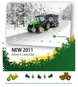 john deere chocolate advent calendar